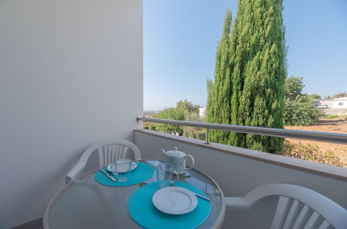 Het balkon van de keuken