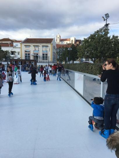 Silves - Schaatsen op een 'nep' schaatsbaan (december 2017)
